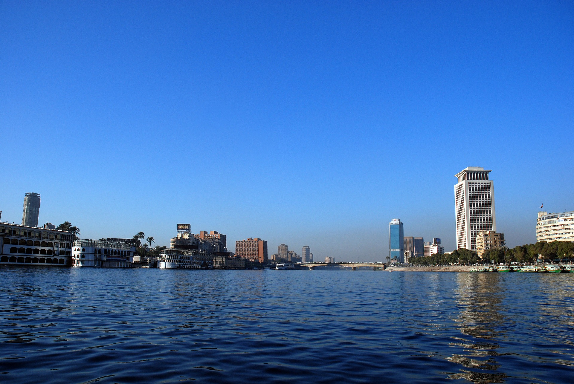 Nile River , Cairo